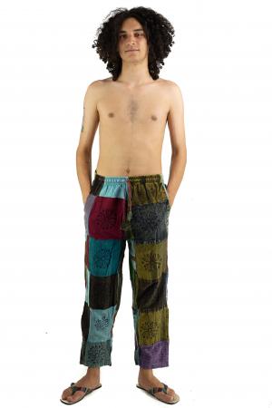 Pantaloni lejeri unicat marime M - Patches - Model 67 [1]