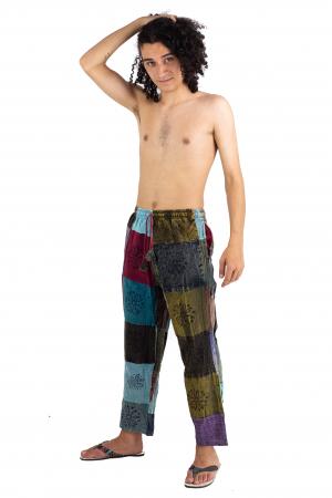 Pantaloni lejeri unicat marime M - Patches - Model 67 [2]