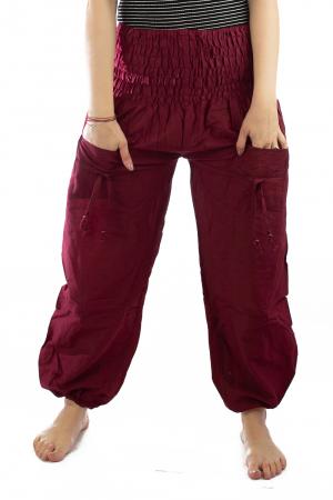 Pantaloni Lejeri - Bordo1