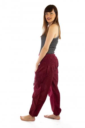 Pantaloni Lejeri - Bordo2
