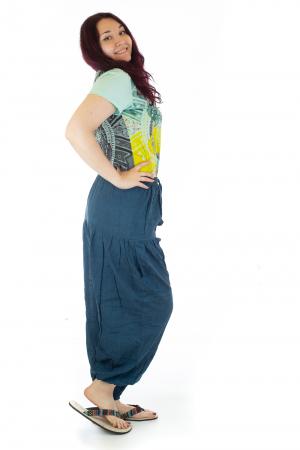 Pantaloni lejeri - Albastru inchis1