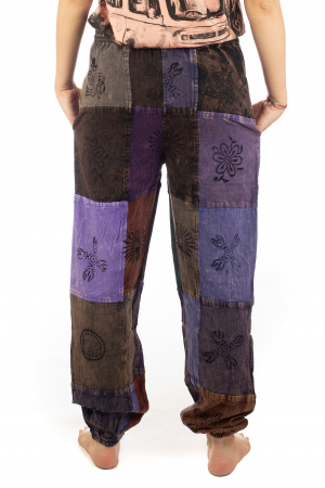 Pantaloni lungi cu patch - Model 178
