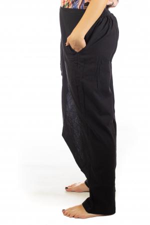 Pantaloni tip fusta din bumbac - Negru SH-92 [1]