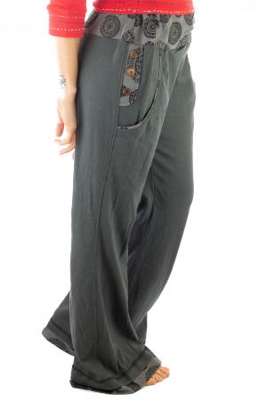 Pantaloni gri - Mandala gri7
