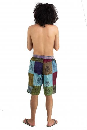 Pantaloni scurti cu patch - Model 13 [3]