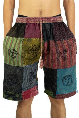 Pantaloni scurti cu patch - Model 15 [0]