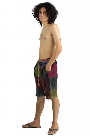 Pantaloni scurti cu patch - Model 16 [2]