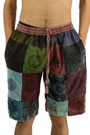 Pantaloni scurti cu patch - Model 16 [0]