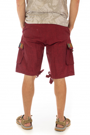Pantaloni scurti de barbati model etno - Visiniu [2]