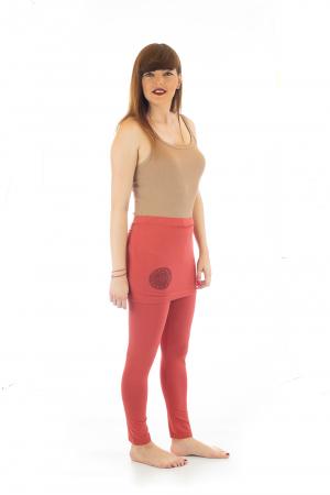 Pantaloni tip fusta din bumbac - Yoga Pants3