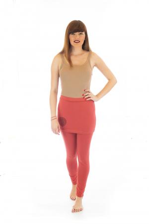 Pantaloni tip fusta din bumbac - Yoga Pants1