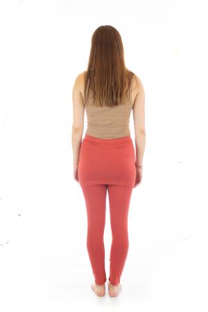 Pantaloni tip fusta din bumbac - Yoga Pants5