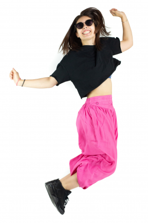 Pantaloni subtiri - Pink Princess - PA10447 [5]