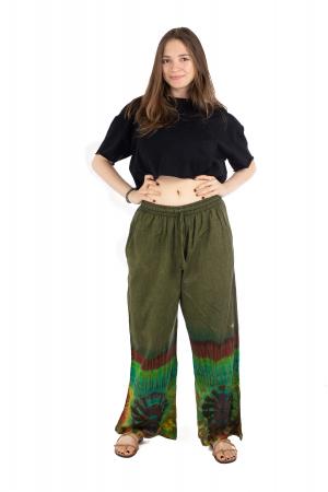 Pantaloni verzi Tie-Dye - Multicolor [1]