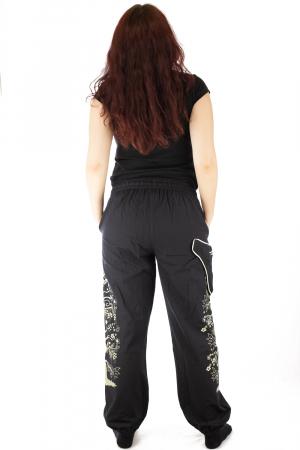 Pantaloni tip salvar pentru femei cu print5