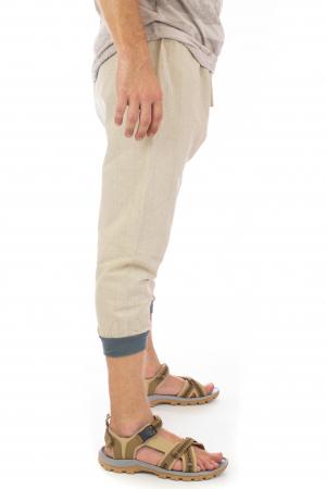Pantaloni tip salvari trei sferturi - Model 21