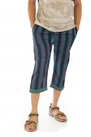 Pantaloni tip salvari trei sferturi - Model 41