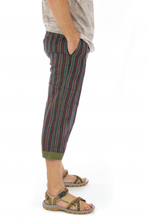 Pantaloni tip salvari trei sferturi - Model 51