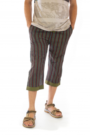 Pantaloni tip salvari trei sferturi - Model 50