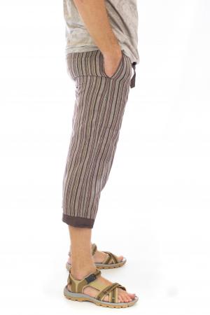 Pantaloni tip salvari trei sferturi - Model 73