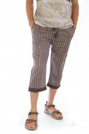 Pantaloni tip salvari trei sferturi - Model 74