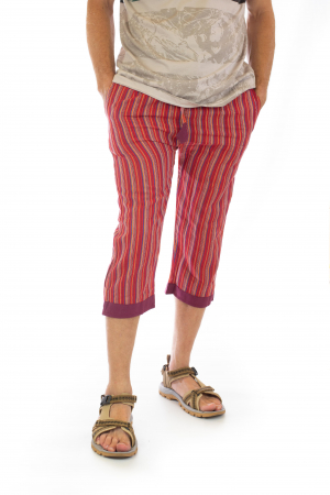 Pantaloni tip salvari trei sferturi - Model 91