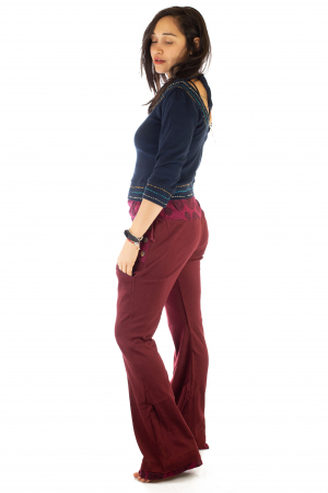 Pantaloni rosii - Mandala rosie2