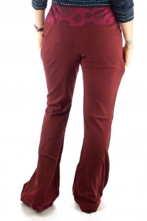 Pantaloni rosii - Mandala rosie5