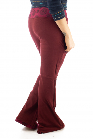 Pantaloni rosii - Mandala rosie7