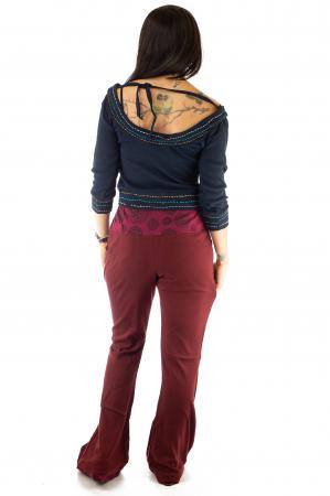 Pantaloni rosii - Mandala rosie4