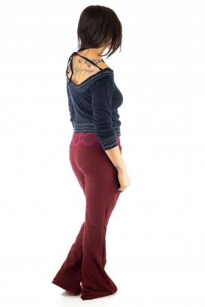 Pantaloni rosii - Mandala rosie6