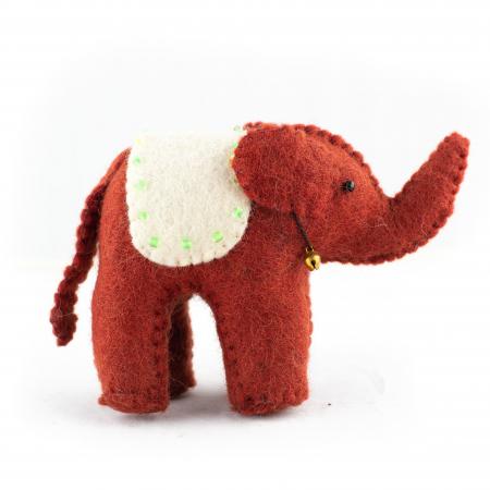 Jucarie din feltru - Elefant0
