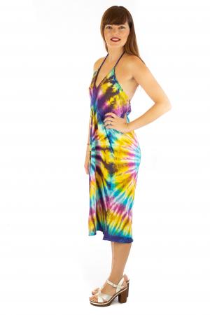Rochie de vara Tie Dye - Rainbow1