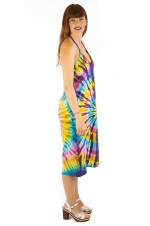 Rochie de vara Tie Dye - Rainbow2