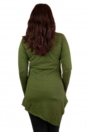 Tunica cu maneca lunga -Verde2