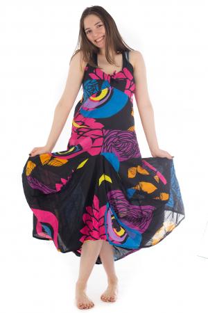 Rochie de plaja lejera - Multicolora HI1494A5