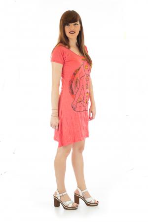 Rochie de vara cu print - Chakra 43
