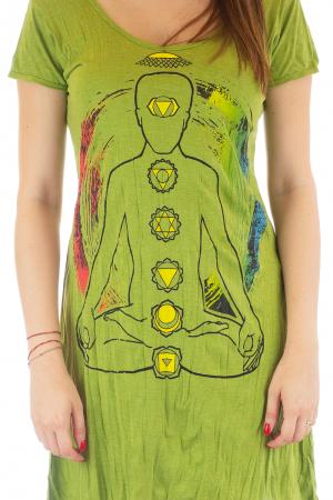 Rochie de vara cu print - Chakra0