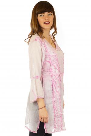 Rochie din bumbac organic - Cotton Candy [2]