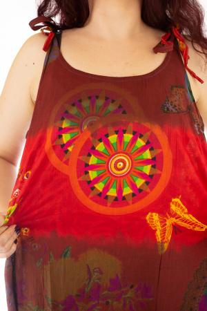 Rochie multicolora de plaja - Rosie [4]