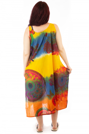 Rochie multicolora de plaja - Blue Mix HI29192