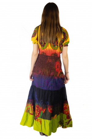 Rochie multicolora - Summer mix HI28974