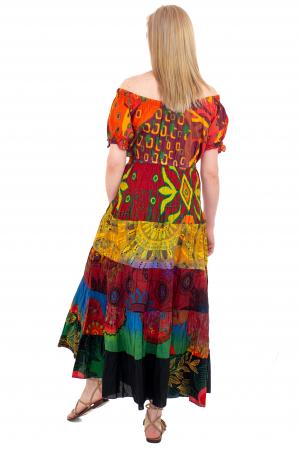 Rochie multicolora -  Summer Mix19 HI2897A [3]