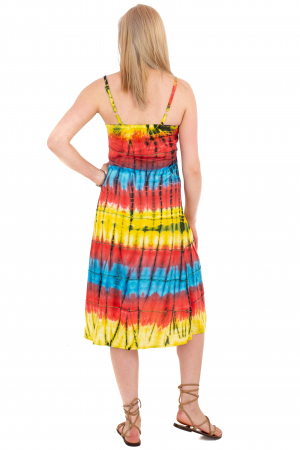 Rochie lejera Tie-Dye - Rainbow [3]