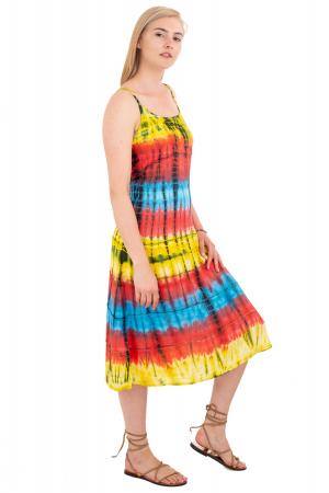 Rochie lejera Tie-Dye - Rainbow [2]