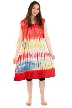 Rochie Tie-Dye din rayon - Rosie [1]