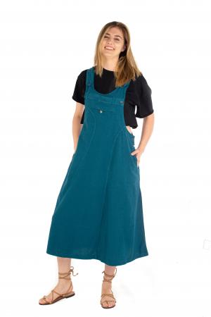 Rochie sarafan dama lunga - Albastru deschis [1]
