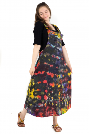 Rochie tip sarafan Tie Dye - Multicolora [3]