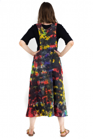 Rochie tip sarafan Tie Dye - Multicolora [5]