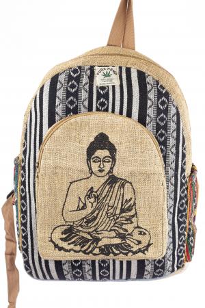 Rucsac din canepa si bumbac - Buddha 1 [0]